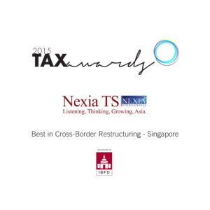 Best in Cross-Border Restructuring - Singapore
