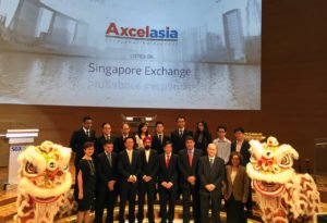 Nexia TS assisted Axcelasia on its Successful Listing on SGX Catalist Board