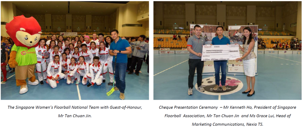 Singapore Women's Floorball National Team Sponsorship