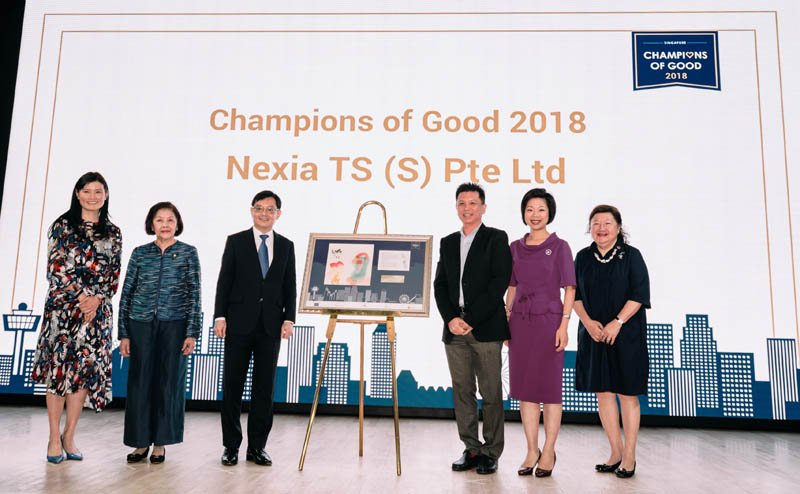 mid-tier accounting firm named champion of good under the company of good